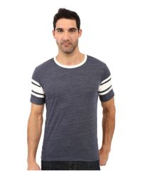 Alternative Apparel - Gray Eco Jersey Touchdown Tee for Men - Lyst