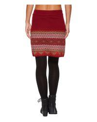 Aventura Clothing Red Sela Skirt