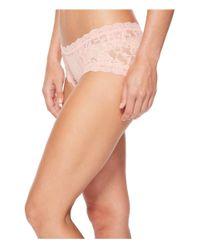 Hanky Panky - Pink Signature Lace Girl-kini - Lyst