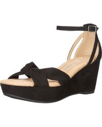 Dirty Laundry - Black Dl Dive In Wedge Sandal - Lyst