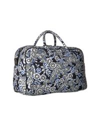 Vera Bradley Multicolor Iconic Compact Weekender Travel Bag (vines Floral) Weekender/overnight Luggage