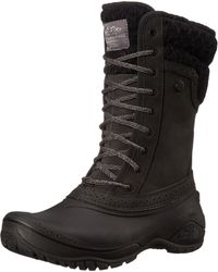 The North Face Brown S Shellista Ii Leather Round Toe Mid-calf Cold Weather Bo.