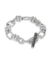 Pomellato - Metallic B.b220tma/a/22 22cm Rondelle Oval Bracelet - Lyst