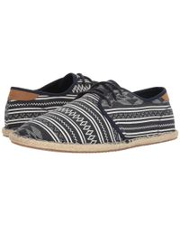 7f07cdd7459 Lyst - TOMS Navy Geo Men s Diego Sneakers in Blue for Men