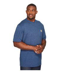 Carhartt - Blue Big & Tall Workwear Pocket S/s Tee for Men - Lyst