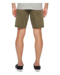 John Varvatos - Green Casual Shorts With Flatiron Jeans Pocket Details S155u1b for Men - Lyst