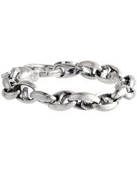 Stephen Webster - Metallic Thorn Medium Oval Link Bracelet for Men - Lyst