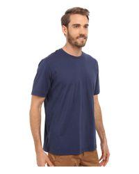 Mod-o-doc - Blue Sunset Short Sleeve Crew for Men - Lyst