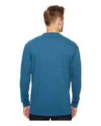 Pendleton - Blue L/s Deschutes Tee for Men - Lyst