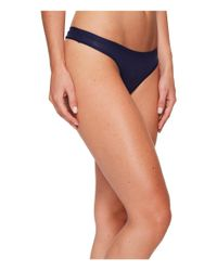 Under Armour - Blue Ua Pure Stretch Sheers Thong - Lyst