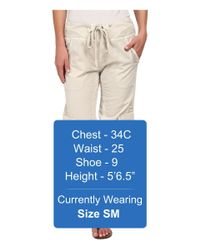 XCVI - Natural Monte Carlo Pant - Lyst