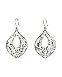 Lucky Brand | Metallic Openwork Drop Earrings | Lyst