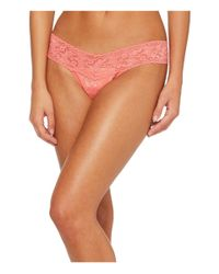 Hanky Panky - Orange Signature Lace Low Rise Thong - Lyst