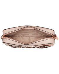MICHAEL Michael Kors Large East/west Crossbody (soft Pink Multi) Cross Body Handbags