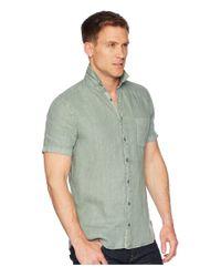 BOSS Orange Green Cattitude 1 Short Sleeve Linen for men