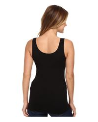 Aventura Clothing - Black Bienne Tank Top (white) Women's Sleeveless - Lyst