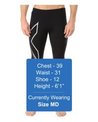 2xu - Black Hyoptik Thermal Compression Tights for Men - Lyst