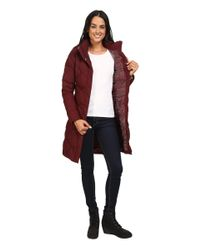 The North Face - Red Miss Metro Parka (tnf Black) Women's Coat - Lyst