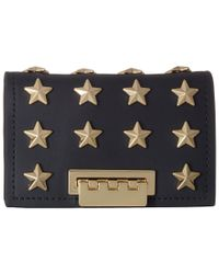 Zac Zac Posen - Blue Earthette Card Case With Chain - Star Stud - Lyst