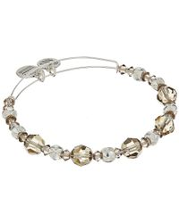 ALEX AND ANI | Metallic Moon Beaded Bangle With Swarovski Crystals | Lyst