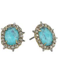 Alexis Bittar - Metallic Crystal Encrusted Spike Studded Jacket Set Earrings - Lyst