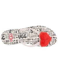 Ugg - Multicolor Simi Fluff Manifesto (jasmine) Women's Sandals - Lyst