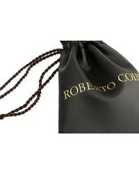 Roberto Coin - Metallic Tiny Treasures Circle Pendant With Diamonds (white) Necklace - Lyst
