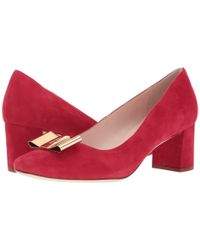 Kate Spade - Red Dijon Bow - Lyst