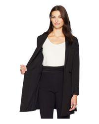 Kenneth Cole - Long Line Blazer (black) Women's Jacket - Lyst