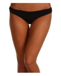 On Gossamer - Black Cabana Cotton Hip Bikini 1402 (champagne) Women's Underwear - Lyst