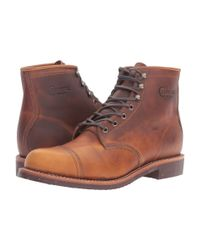 Chippewa - Multicolor 6 Homestead Pebbled Boot (cordovan Full Grain Leather) Men's Work Boots for Men - Lyst
