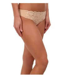 Commando - White Double Take Lace Thong Lt14 (ivory) Women's Underwear - Lyst