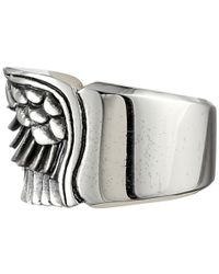 King Baby Studio - Metallic Wing Ring - Lyst
