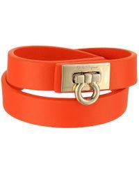 Ferragamo | Multicolor 345921 Gancet 2g Bracelet | Lyst