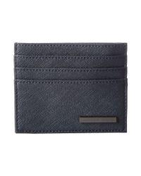 Armani Jeans - Gray Eco Saffiano Porta Carte for Men - Lyst