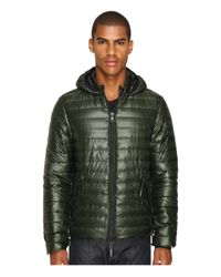 Duvetica | Brown Troilo Quilted Down Hooded Jacket for Men | Lyst