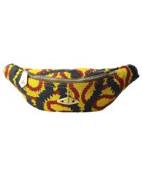 Vivienne Westwood | Yellow Africa Squiggle Bum Bag | Lyst