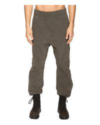 Yeezy - Black Tab Sweatpants for Men - Lyst