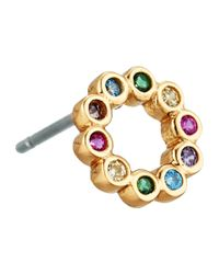 Marc Jacobs - Metallic Something Special Rainbow Ring Stud Earring - Lyst