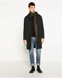 Zara | Black Textured Weave Sweater for Men | Lyst