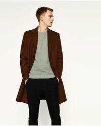 Zara | Green Textured Weave Sweater for Men | Lyst