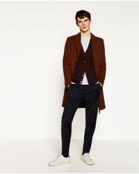 Zara | Multicolor Viscose Cardigan for Men | Lyst