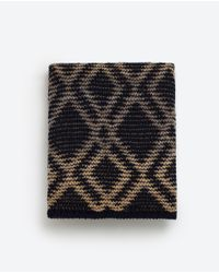 Zara | Multicolor Striped Jacquard Scarf | Lyst
