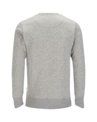 Jack & Jones - Gray Core Sharp Crew Neck Sweatshirt for Men - Lyst