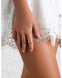 Zimmermann - Metallic Mm Luna Ring Set - Lyst