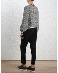Zimmermann | Multicolor Stranded Sweatshirt | Lyst