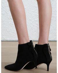 Zimmermann - Black Frill Ankle Boot - Lyst