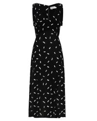 Zimmermann - Black Bow Picnic Dress - Lyst