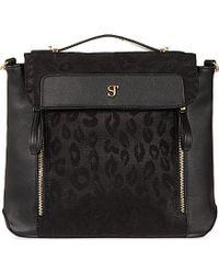 SuperTrash - Leopard Lace Zip Bag - For Women - Lyst