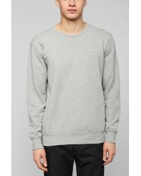 Drifter Destroyed Pullover Sweatshirt - Lyst